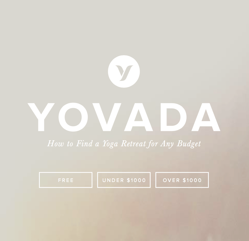 Find a Yoga Retreat for Every Budget with Yovada's Ebook